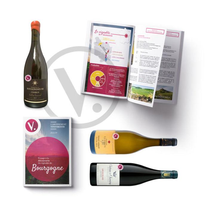 Coffret découverte Bourgogne